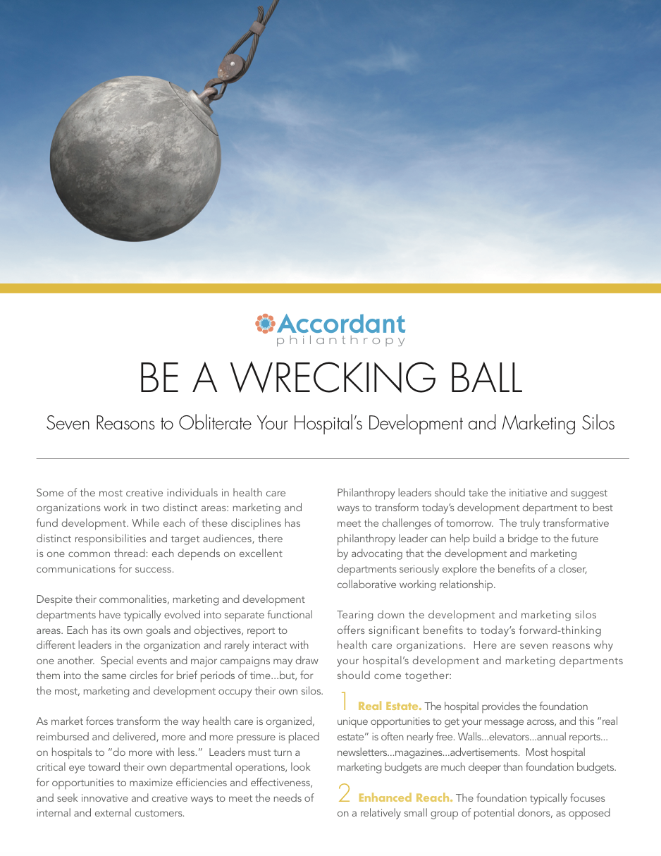Be a Wrecking Ball