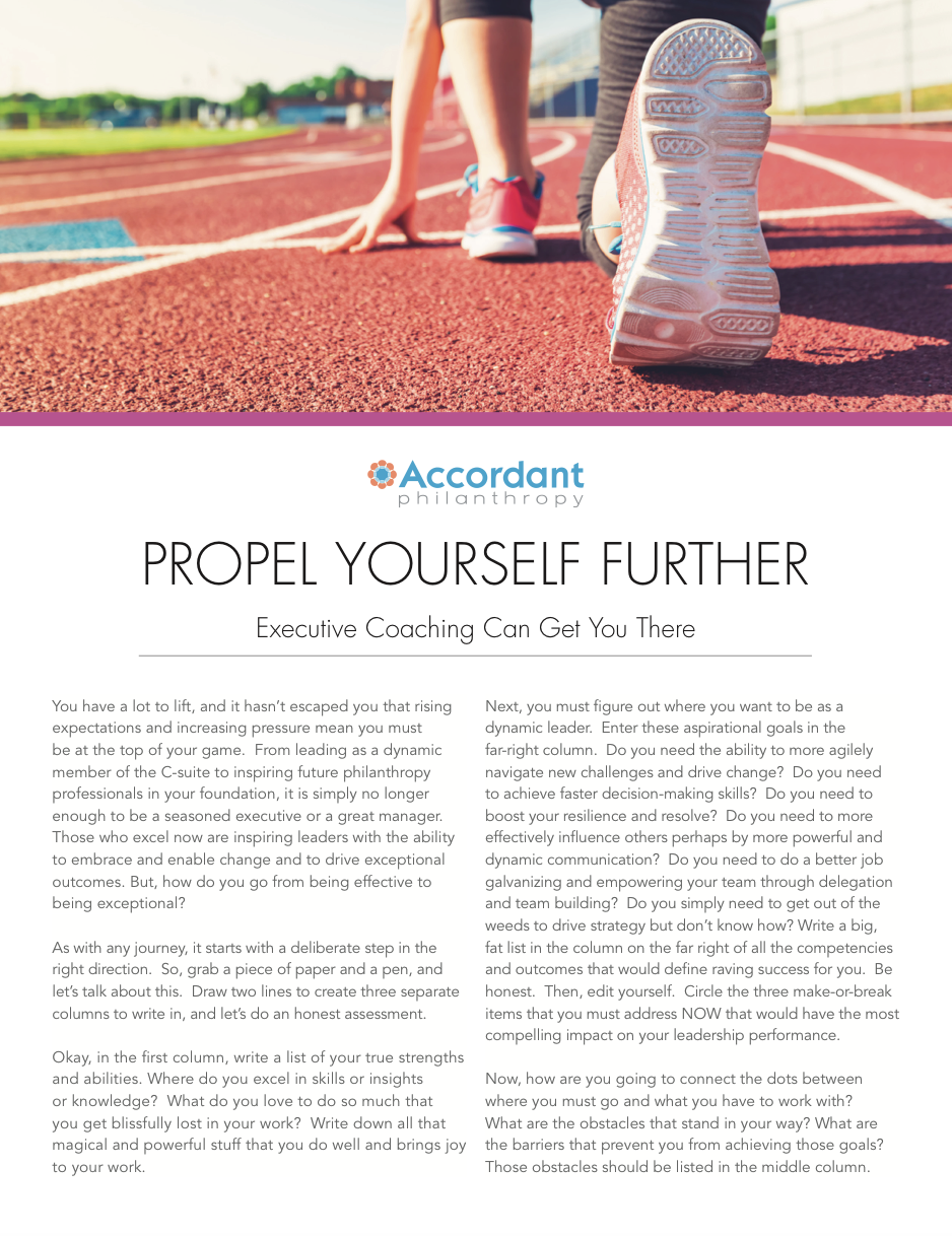 Propel Yourself Further