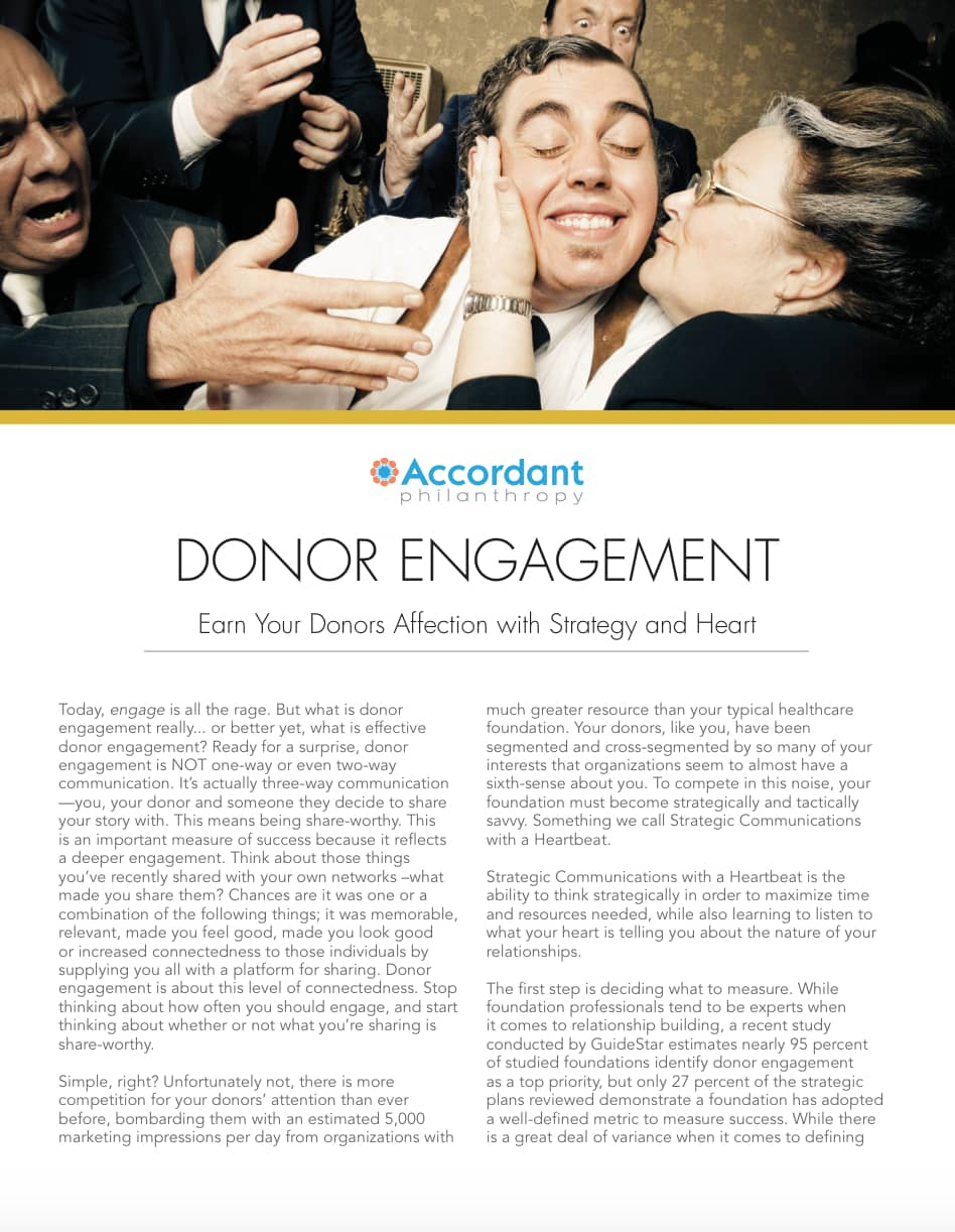 Donor Engagement