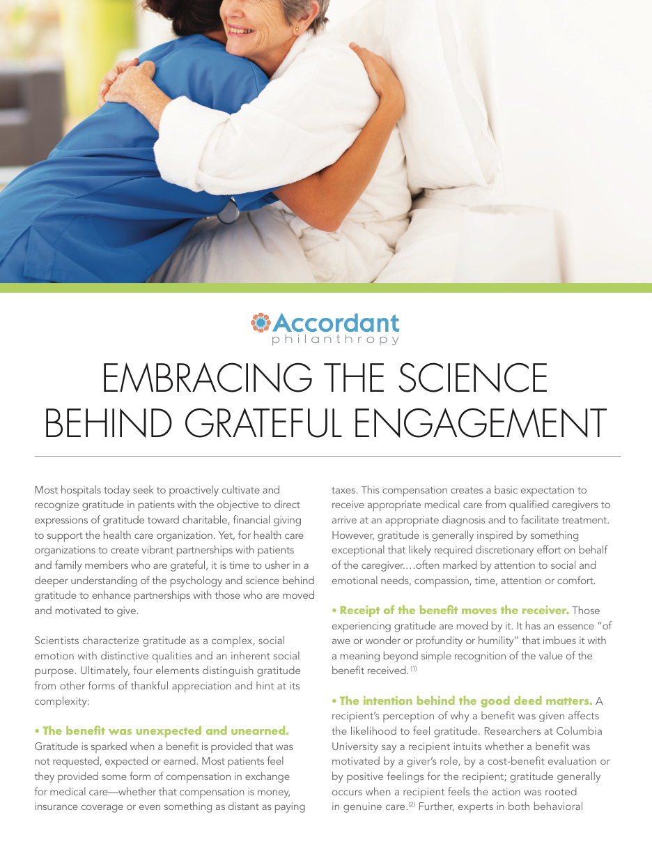 Embracing The Science Behind Grateful Engagement