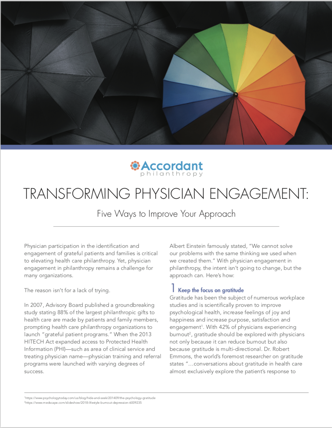Transforming Physician Engagement